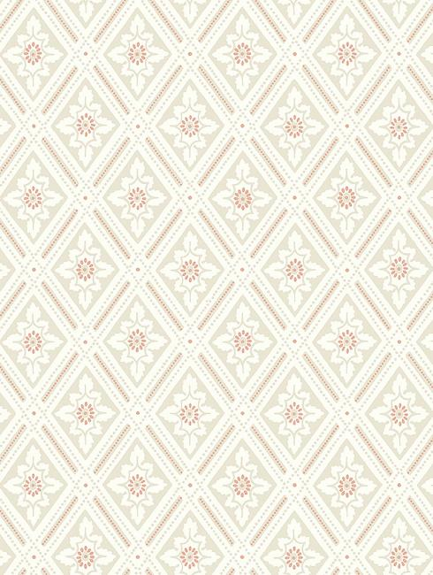 The wallpaper Ester from Boråstapeter. The wallpaper design and pattern is neutrals and consists of Trellis