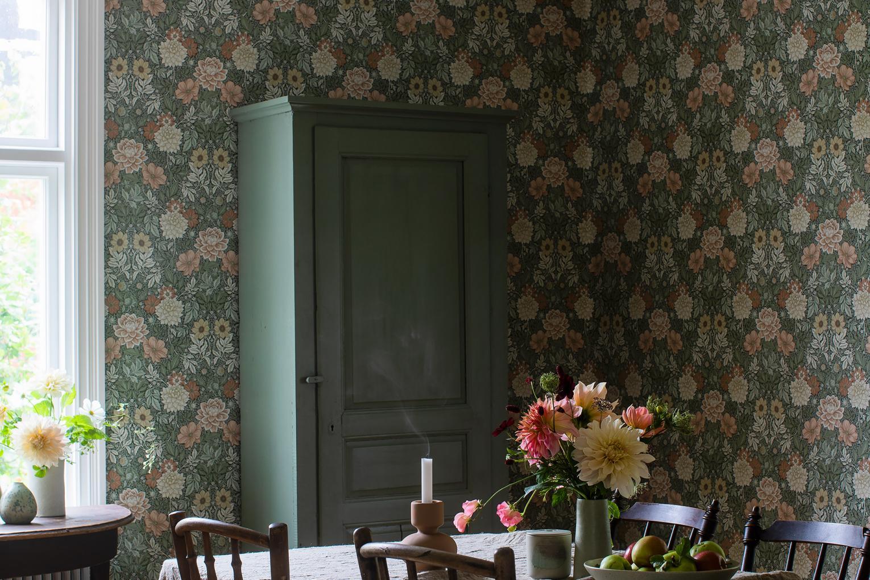 Dining Room Wallpaper Ideas Borastapeter