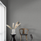 The wallpaper Charcoal Grey from Engblad & Co. The wallpaper design and pattern is grey and consists of Single Colour