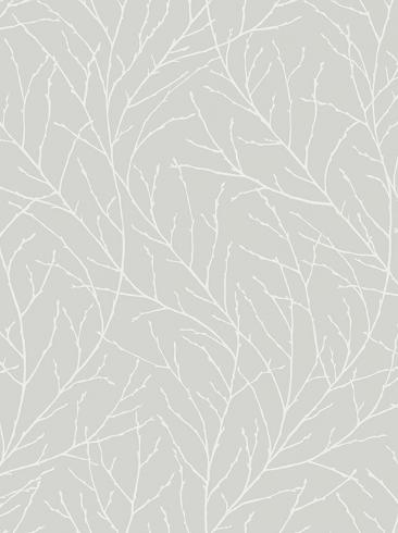 The wallpaper Branches from Engblad & Co. The wallpaper design and pattern is grey and consists of Tree