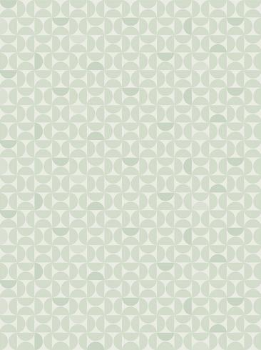 The wallpaper Candy from Engblad & Co. The wallpaper design and pattern is green and consists of Graphic