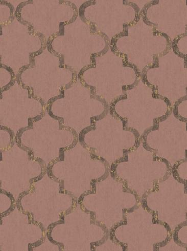 The wallpaper Eternal Harmony from Boråstapeter. The wallpaper design and pattern is red and consists of Graphic Trellis