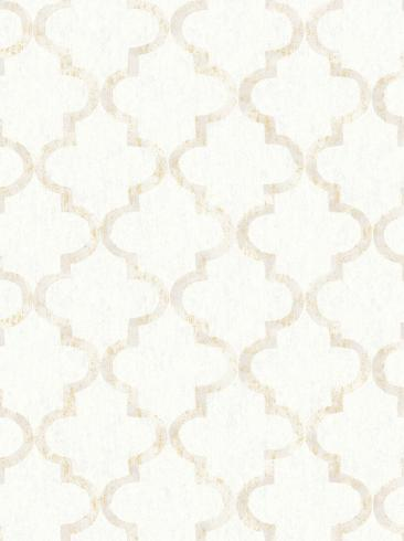 The wallpaper Eternal Harmony from Boråstapeter. The wallpaper design and pattern is white and consists of Graphic Trellis