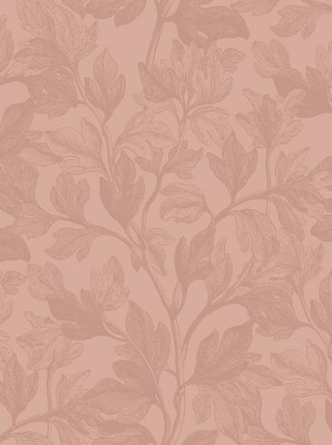 The wallpaper Fig from Engblad & Co. The wallpaper design and pattern is pink and consists of Plants