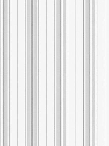 The wallpaper Hamnskär Stripe from Boråstapeter. The wallpaper design and pattern is grey and consists of Stripe