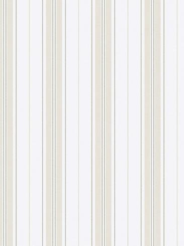 The wallpaper Hamnskär Stripe from Boråstapeter. The wallpaper design and pattern is neutrals and consists of Stripe