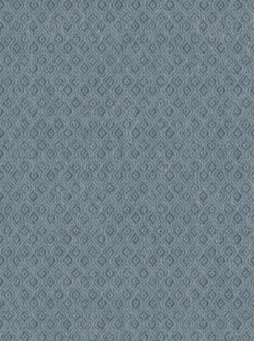 The wallpaper Jaipur Linen from Boråstapeter. The wallpaper design and pattern is blue and consists of Graphic Textile