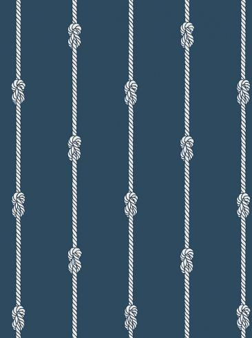 The wallpaper Knot stripe from Boråstapeter. The wallpaper design and pattern is blue and consists of Stripe