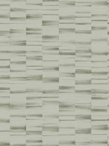 The wallpaper Waterfront from Engblad & Co. The wallpaper design and pattern is green and consists of Stripe