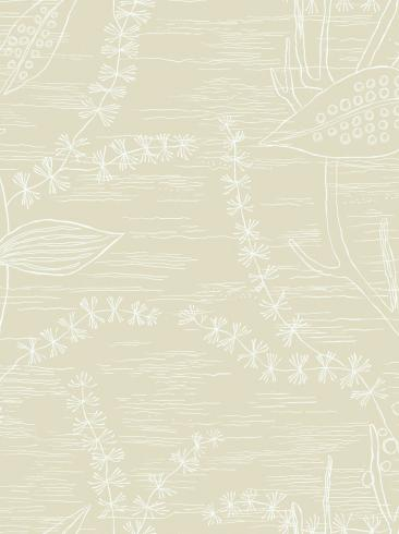 The wallpaper Alger from Engblad & Co. The wallpaper design and pattern is neutrals and consists of Graphic Plants