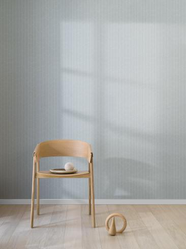 The wallpaper Angle from Engblad & Co. The wallpaper design and pattern is green and consists of Geometric Graphic