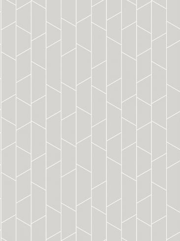 The wallpaper Angle from Engblad & Co. The wallpaper design and pattern is grey and consists of Geometric Graphic