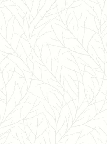 The wallpaper Branches from Engblad & Co. The wallpaper design and pattern is white and consists of Tree