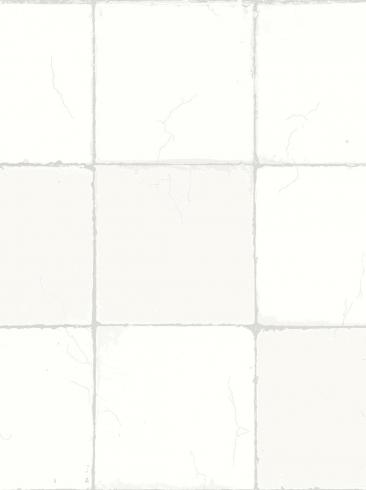 The wallpaper Capri Tiles from Engblad & Co. The wallpaper design and pattern is white and consists of Checked
