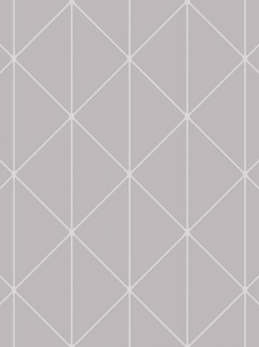 The wallpaper Diamonds from Engblad & Co. The wallpaper design and pattern is grey and consists of Geometric Graphic Harlequin