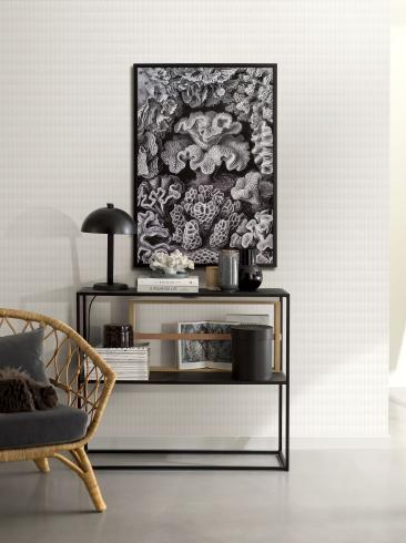 The wallpaper Esther from Engblad & Co. The wallpaper design and pattern is white and consists of Graphic