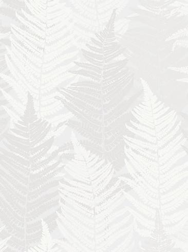 The wallpaper Fern Forest from Boråstapeter. The wallpaper design and pattern is white and consists of Foliage Forest Plants