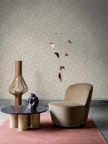 The wallpaper Fig from Engblad & Co. The wallpaper design and pattern is neutrals and consists of Plants