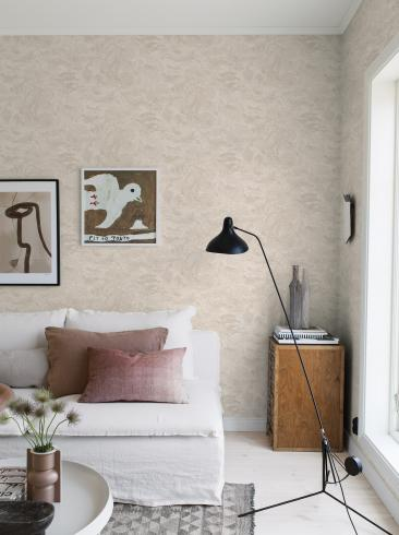 The wallpaper Golden Marble from Boråstapeter. The wallpaper design and pattern is neutrals and consists of Marble