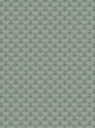 The wallpaper Grace from Boråstapeter. The wallpaper design and pattern is green and consists of Graphic