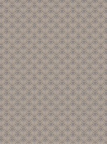 The wallpaper Grace from Boråstapeter. The wallpaper design and pattern is grey and consists of Graphic