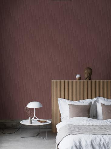 The wallpaper Gradient from Engblad & Co. The wallpaper design and pattern is red and consists of Graphic