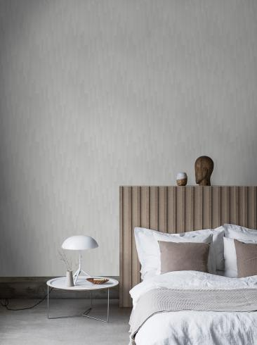 The wallpaper Gradient from Engblad & Co. The wallpaper design and pattern is grey and consists of Graphic