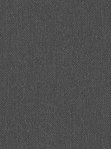 The wallpaper Herringbone from Boråstapeter. The wallpaper design and pattern is black and consists of Single Colour Textile