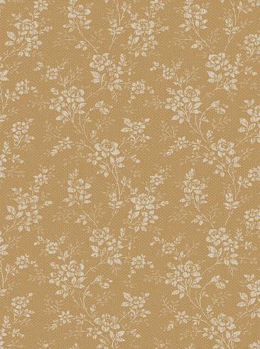 The wallpaper Hip Rose from Boråstapeter. The wallpaper design and pattern is yellow and consists of Archive Floral Traditional