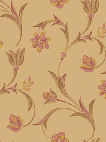 The wallpaper Kalmar from Engblad & Co. The wallpaper design and pattern is neutrals and consists of Floral Sketched