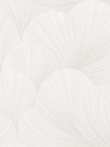 The wallpaper Mirage from Boråstapeter. The wallpaper design and pattern is white and consists of Graphic Limestone