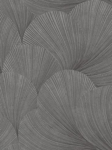 The wallpaper Mirage from Boråstapeter. The wallpaper design and pattern is grey and consists of Graphic Limestone