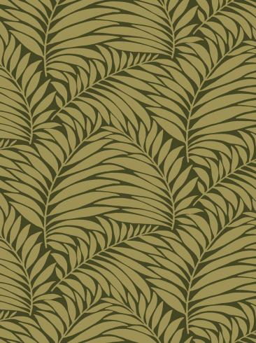 The wallpaper Myfair from Engblad & Co. The wallpaper design and pattern is green and consists of Plants