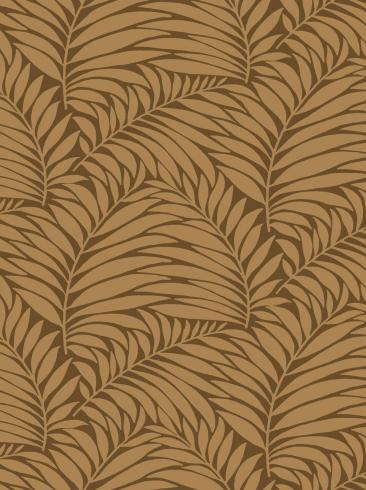 The wallpaper Myfair from Engblad & Co. The wallpaper design and pattern is brown and consists of Plants
