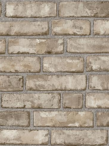 The wallpaper Original Brick from Boråstapeter. The wallpaper design and pattern is brown and consists of Brick