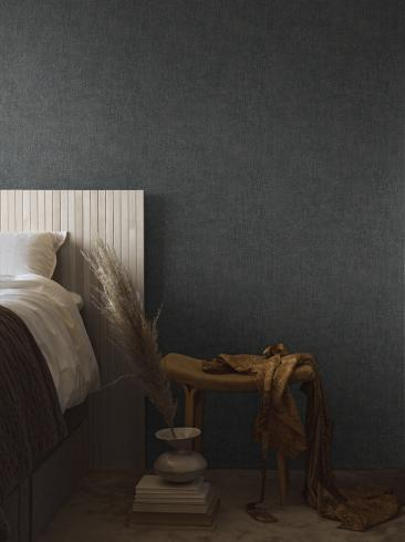 The wallpaper Raku from Boråstapeter. The wallpaper design and pattern is blue and consists of Contemporary