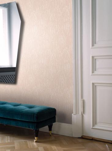 The wallpaper Riviera from Engblad & Co. The wallpaper design and pattern is pink and consists of Single Colour