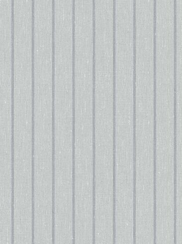 The wallpaper Shirt Stripe from Boråstapeter. The wallpaper design and pattern is grey and consists of Stripe