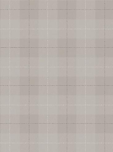 The wallpaper Tartan Check from Boråstapeter. The wallpaper design and pattern is brown and consists of Checked