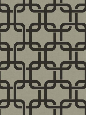 The wallpaper Waldorf from Engblad & Co. The wallpaper design and pattern is grey and consists of Traditional