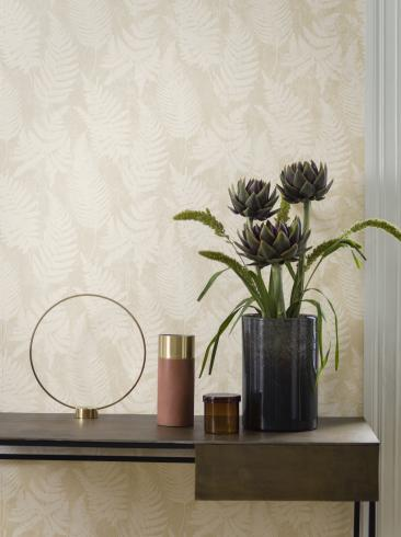 The wallpaper Whistler from Engblad & Co. The wallpaper design and pattern is neutrals and consists of Plants