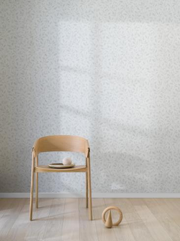 The wallpaper Willow from Engblad & Co. The wallpaper design and pattern is and consists of Graphic Foliage Plants
