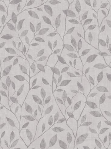 The wallpaper Willow from Engblad & Co. The wallpaper design and pattern is grey and consists of Graphic Foliage Plants