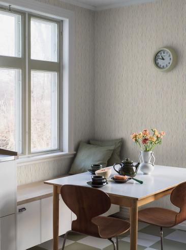 The wallpaper Schlager from Boråstapeter. The wallpaper design and pattern is neutrals and consists of Archive