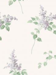 The wallpaper Lilacs from Boråstapeter. The wallpaper design and pattern is neutrals and consists of Floral