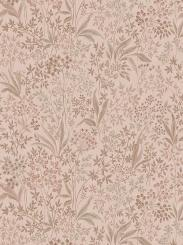 The wallpaper Nocturne Mural from Boråstapeter. The wallpaper design and pattern is pink and consists of Floral Foliage