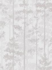 The wallpaper Pine from Engblad & Co. The wallpaper design and pattern is white and consists of Forest Tree